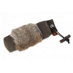 Firedog Standard Dummy 500g Khaki with Fur